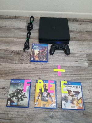 🚩 Playstation 4 Ps4 Slim 1TB (1000gb) Bundle + 3 FREE Games November 15-25 Special First Come First Served 🚩 for Sale in Phoenix, AZ