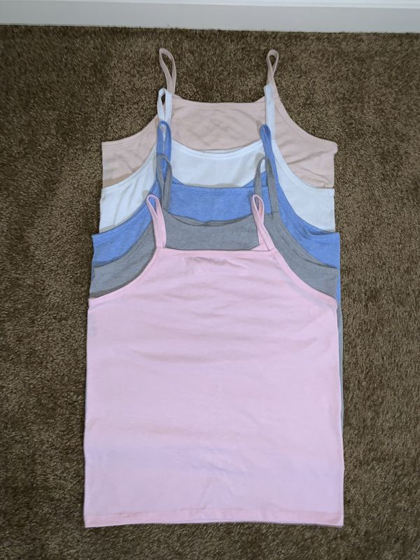Colored tank tops