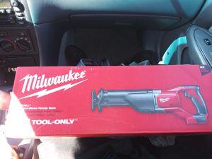 Milwaukee Sawzall M18 cordless reciprocal saw for Sale in Orlando, FL