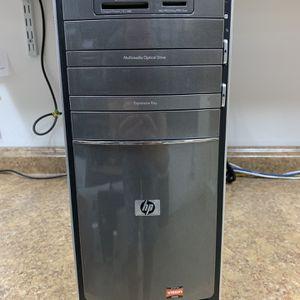 HP desctop. AMD Athlon II X4, 4gb RAM, 750gb HDD, Windows 10, wifi for Sale in Fort Lauderdale, FL