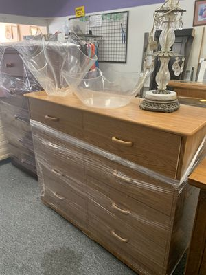 Brand new 8 drawer dresser in plastic for Sale in Tulare, CA