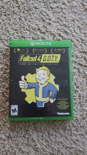 Fallout 4 - XBox One for Sale in Lake Stevens, WA