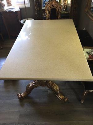 Limestone table top/kitchen Island for Sale in San Bernardino, CA