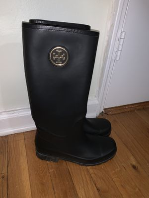 Tory Burch rain boots for Sale in Queens, NY