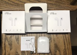 I7S TWS IN EAR WIRELESS BLUETOOTH EARBUDS WITH CHARGER & CASE! for Sale in Tinton Falls, NJ