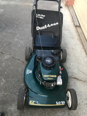 Gas lawnmower craftsman for Sale in San Jose, CA