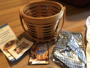 Longaberger 1998 Commemorative Barn Raising Basket-NEW for Sale in Granville, OH