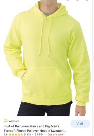neon yellow hoodie brand new XL 2XL 3XL for Sale in New Brunswick, NJ