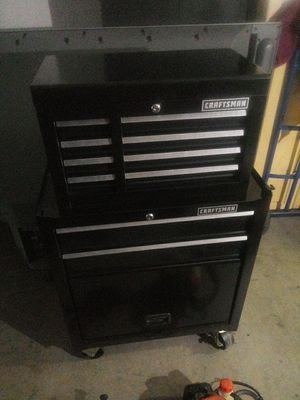Craftsman tool box and a echo trimmer (package deal) for Sale in Peoria, AZ