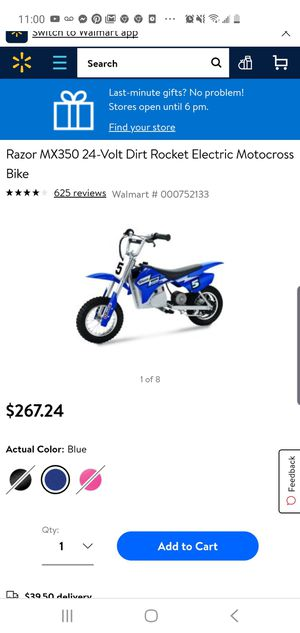Electric dirt bike for kids for Sale in Salt Lake City, UT