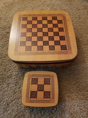 Longaberger Checkerboard and Tic Tac Toe Baskets for Sale in Reno, NV