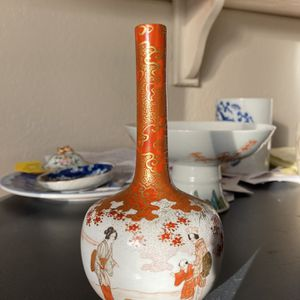 Antique Japanese Bottle Vase for Sale in Las Vegas, NV