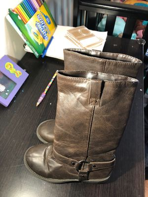 Girls brown boots size 13 for Sale in Milton, MA