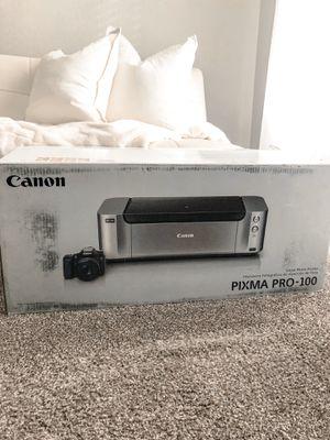 Canon Pixma Pro-100 for Sale in Las Vegas, NV