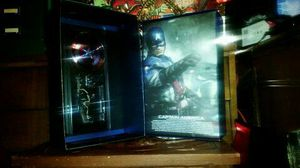 Hot Toys MMS 156 Captain America The First Avenger New In Box $280.00 for Sale in Leander, TX