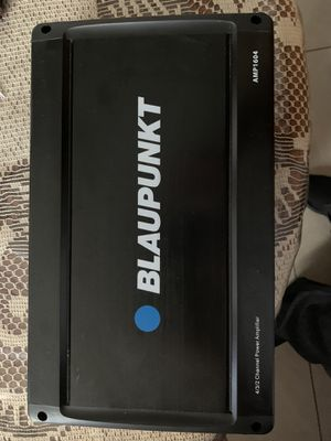 4 channel amp for Sale in San Jose, CA
