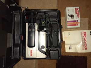 RCA Pro Wonder VHS Video Camera for Sale in Portsmouth, VA