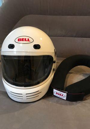 2005 Bell Helmet & Neck Brace for Sale in Rockville, MD