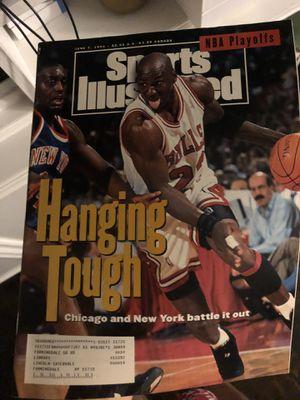JUNE 7 1993 SPORTS ILLUSTRATED- MICHAEL JORDAN - VS KNICKS for Sale in Queens, NY