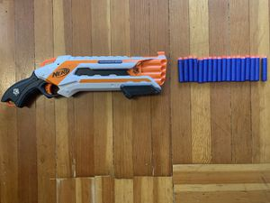 Nerf N-Strike Elite Rough Cut 2X4 Blaster Gun with Darts for Sale in Portland, OR