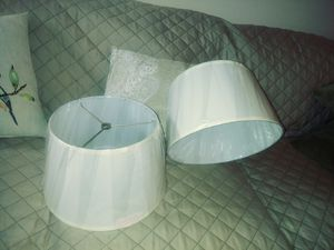 New. 2 - new lamp shades. for Sale in Greenville, SC