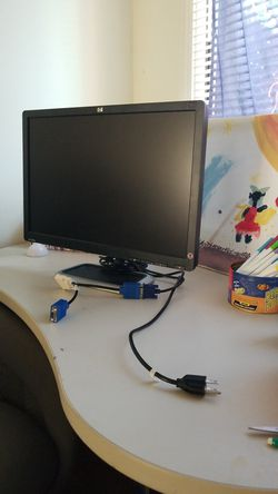 Lg monitor with wires for Sale in Madison Heights,  MI