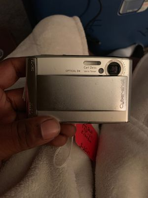 Sony digital camera cyber-shot DSC-T5 for Sale in Tulsa, OK
