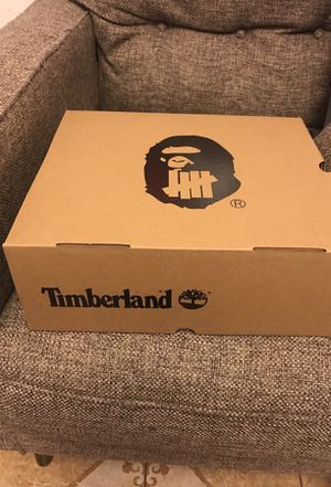 Timberland x Bape boots for Sale in New York, NY