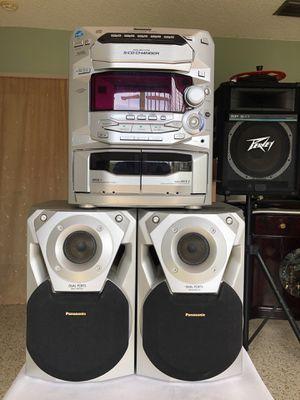Panasonic CD Stereo System SA AK14 for Sale in Miami, FL