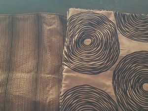 A pair of sofa cushion covers great condition for Sale in Lincoln Acres, CA