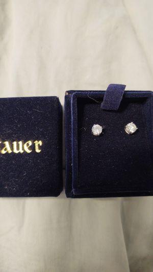 Imitation Diamond. post earrings silver for Sale in Pompano Beach, FL