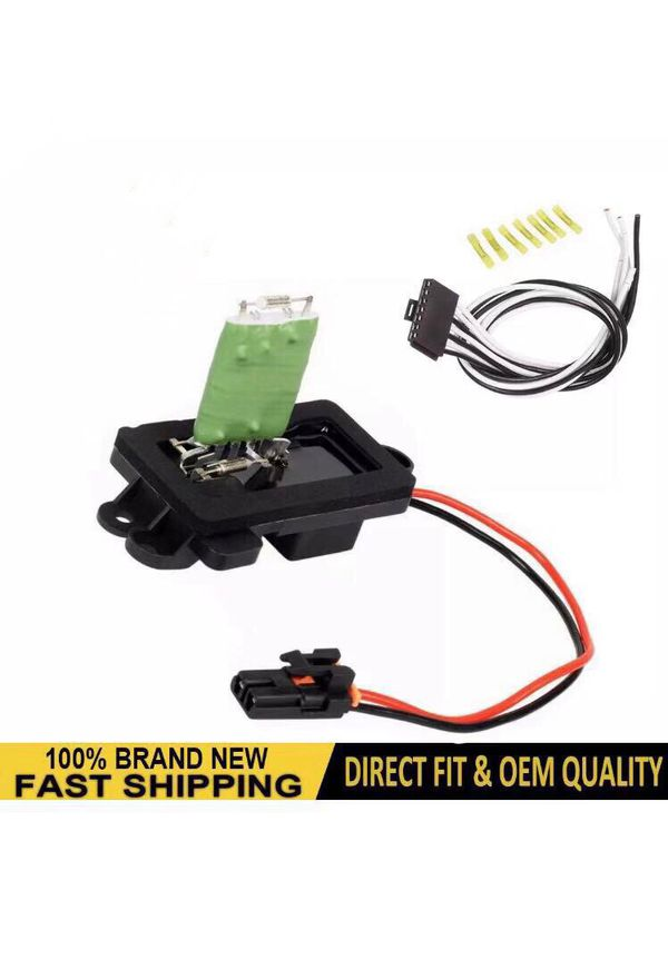 Blower Motor Resistor AC Heater Switch Control for 03-07 GMC Chevrolet