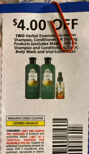 Herbal Essences shampoo Coupons for Sale in Fontana, CA