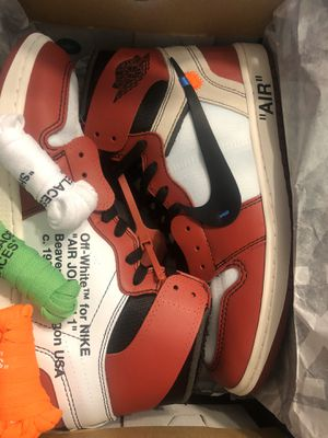 Jordan 1 chicago off whites size 11 for Sale in Fresno, CA
