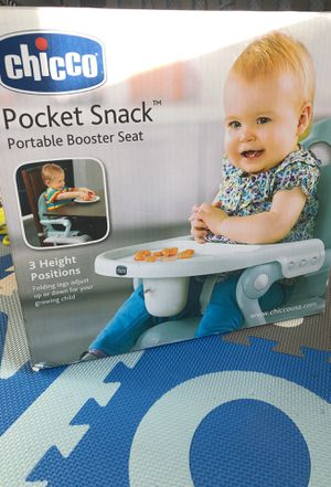 Chicco Pocket Snack Booster Seat for Sale in New York, NY
