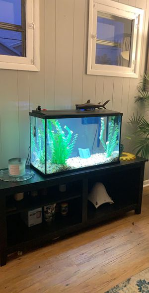 40 Gallon Fish Tank with stand for Sale in Royal Oak, MI
