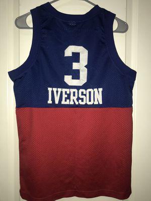 NBA Allen Iverson #3 Philadelphia 76ers Jersey Youth Large for Sale in Las Vegas, NV