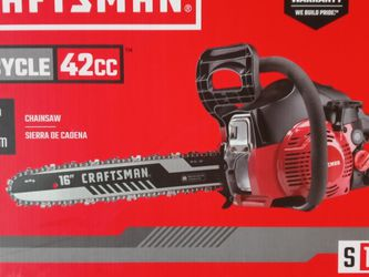 Craftsman Chainsaw for Sale in Everett,  WA