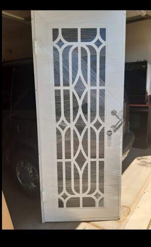 Titan metal door with screen in the other side for Sale in Phoenix, AZ