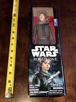 New Star Wars Rogue 1 Sergeant Jyn Erso Jedha for Sale in Hemet, CA