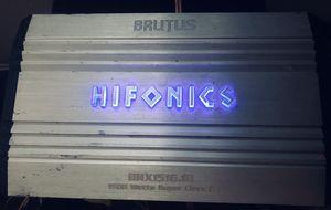Hifonics Brutus Mono Block Amp Model # BRX1516.1D for Sale in Fresno, CA