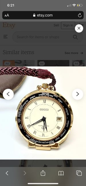 Gucci watch for Sale in Hacienda Heights, CA