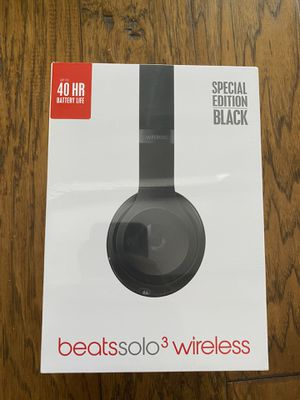Beats Solo 3 Wireless Headphones Special Edition Black - Brand New for Sale in Longwood, FL