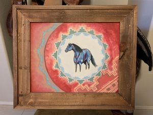 PAINTING, Acrylic, horse art for Sale in Gilbert, AZ
