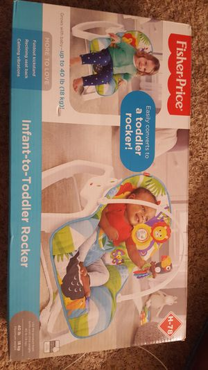 Infant to toddler rocker Fisher Price for Sale in Conway, KS