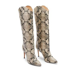 Schutz Maryana Snakeskin High Heel Boot Sz 6.5!!! for Sale in Baltimore, MD