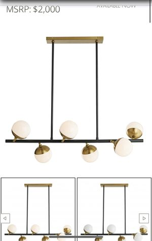 Arteriors Wahlburg Chandelier NEW for Sale in Dallas, TX