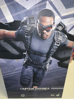 Hot toys captain America winter soldier falcon avengers for Sale in Los Angeles, CA