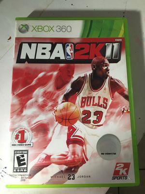 NBA 2K11 XBOX 360 game for Sale in Mobile, AZ