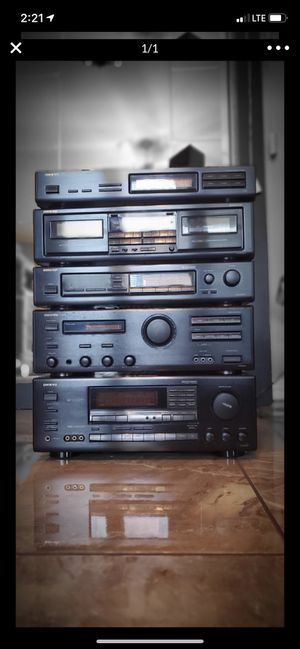 onkyo stereo system for Sale in Liberty Hill, TX